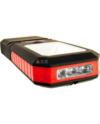 LATARKA WARSZTATOWA 1 COB + 3 LED - TIROSS