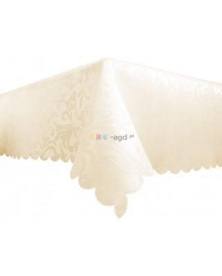 obrus plamoodporny 140x160 biały 100% jakość
