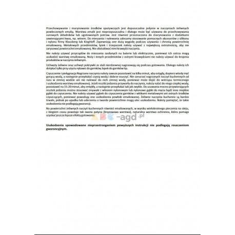 PATELNIA GRILLOWA CIĘŻKA ŻELIWNA 26 cm GRILL KINGHOFF