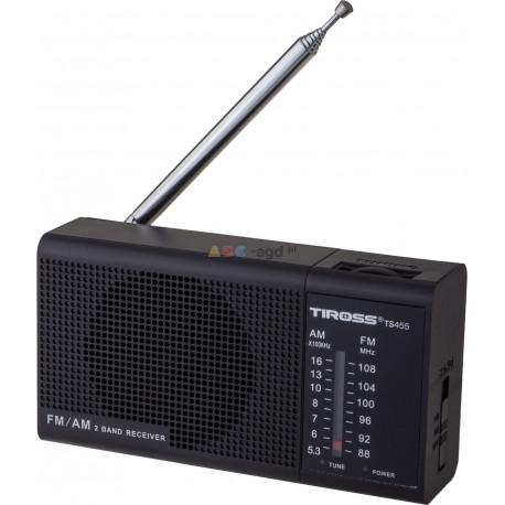 MINI RADIO PRZENOŚNE FM NA BATERIE TUNER RADYJKO TIROSS