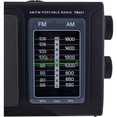 RADIO PRZENOŚNE FM SIECIOWE / NA BATERIE TUNER TIROSS