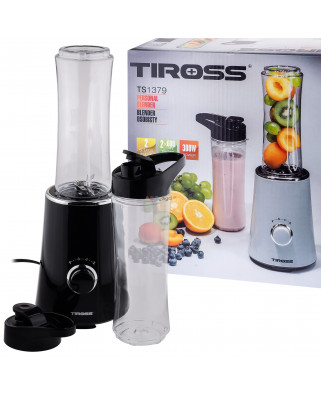 BLENDER OSOBISTY MIKSER 2X600ML TIROSS TS-1379