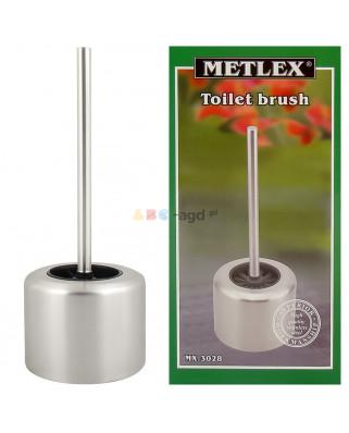 SZCZOTKA WC DO TOALETY +Pojemnik CHROM METLEX